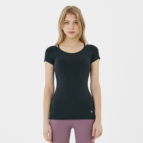 (TOP) MT0853 - Black - goYOGA Outlet
