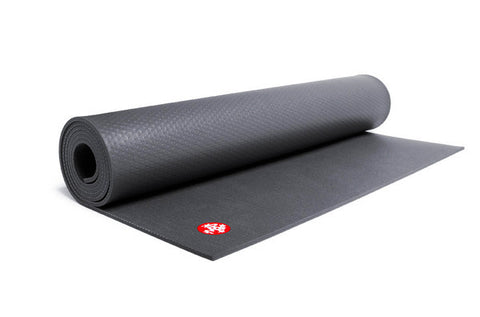 "Manduka PRO Mat - Black (Long 85"") - goYOGA Outlet"