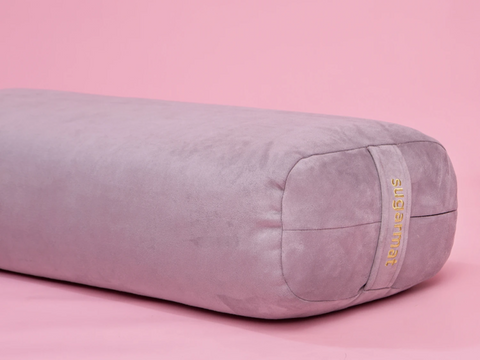 Sugar Yoga Bolster - Grey - goYOGA Outlet