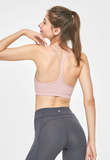 Studio Sports Bra - Smokey Pink