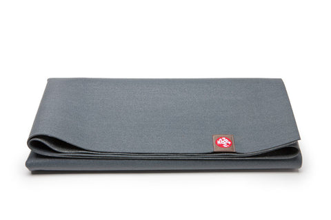 Manduka eKO SuperLite® Travel Mat - Thunder - goYOGA Outlet
