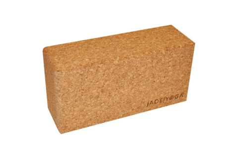 JadeYoga Cork Block (Small) - goYOGA Outlet