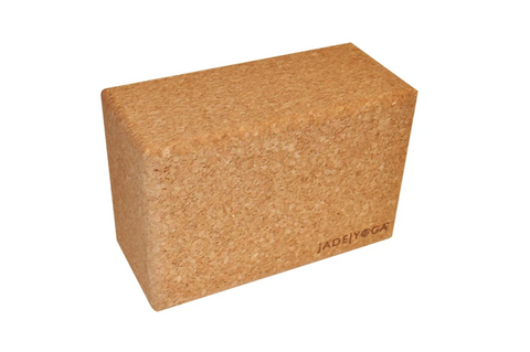 JadeYoga Cork Block (Large) - goYOGA Outlet