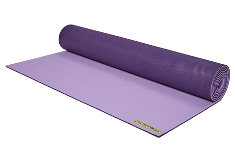 "Jade Yoga - Harmony Mat 71"" Lavender Purple - goYOGA Outlet"