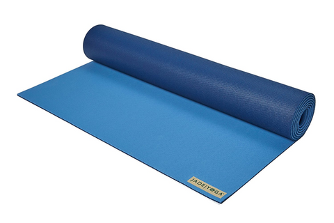 "Jade Yoga - Harmony Mat 71"" Slate Midnight - goYOGA Outlet"