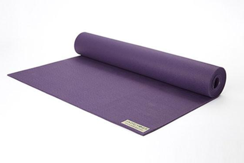"Jade Yoga - Fusion Extra Thick Yoga Mat 68"" Purple - goYOGA Outlet"
