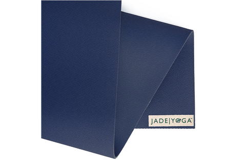 "Jade Yoga - Travel Mat 68"" Midnight - goYOGA Outlet"
