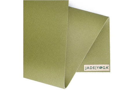 "Jade Yoga - Travel Mat 68"" Olive - goYOGA Outlet"