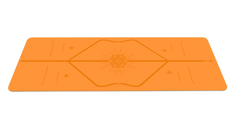 Liforme Happiness Yoga Mat - Vibrant Orange