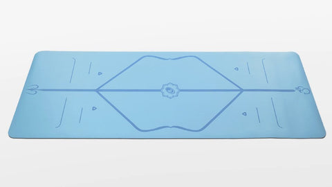Liforme Travel Yoga Mat - Blue - goYOGA Outlet