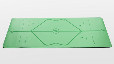 Liforme Travel Yoga Mat - Green - goYOGA Outlet
