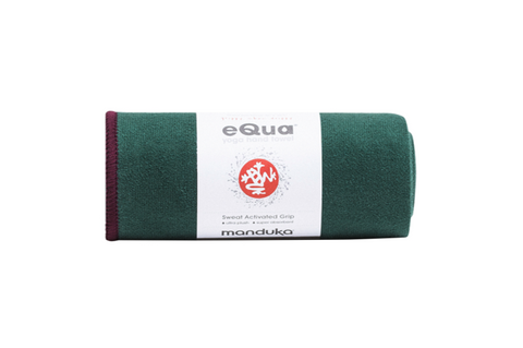 Manduka eQua Hand Towel - Thrive - goYOGA Outlet