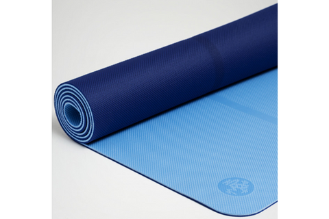 Manduka Welcome Yoga Mat - Blue - goYOGA Outlet