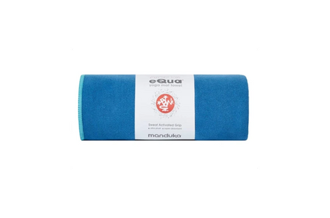 Manduka eQua Hand Towel - Pacific Blue - goYOGA Outlet