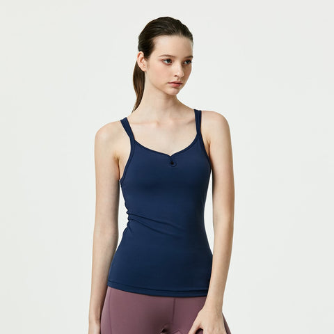 (TOP) MLT0425 - Navy - goYOGA Outlet
