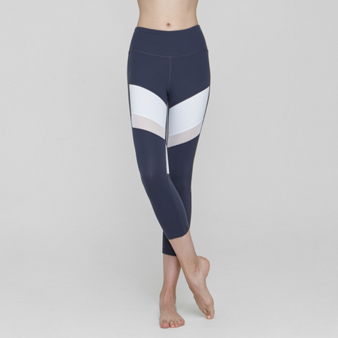 (BOTTOM) MP0759 Gray-Navy - goYOGA Outlet