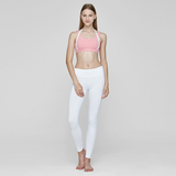 (TOP) MT0256 Aloha Pink White - goYOGA Outlet