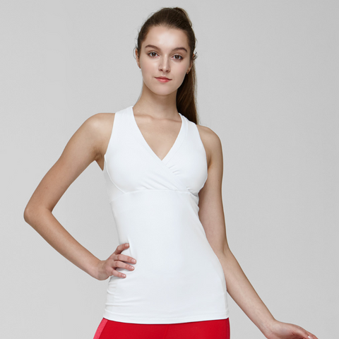 (TOP) MT0609 White - goYOGA Outlet