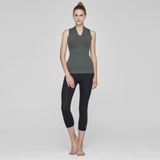 (TOP) MT1498 Khaki Black - goYOGA Outlet