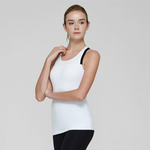 (TOP) MT1437 White - goYOGA Outlet