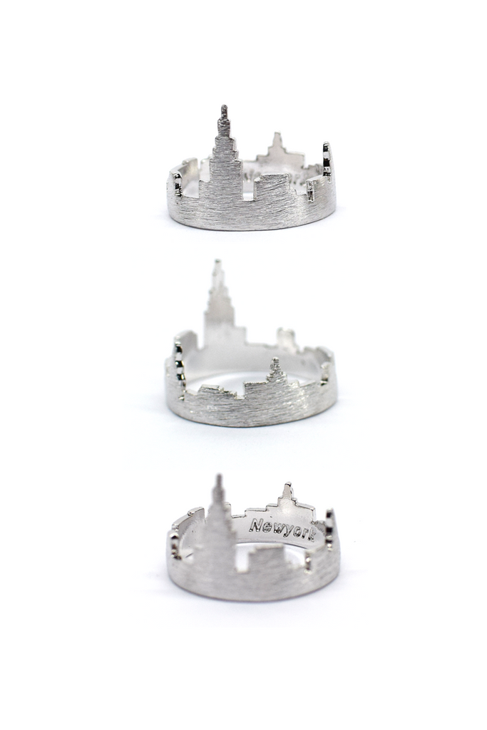 NEW YORK - Cityscape Ring (Silver)