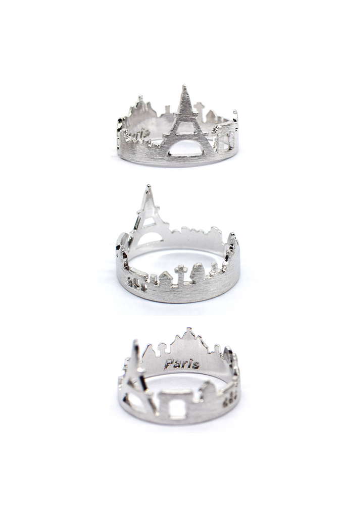 PARIS - Cityscape Ring (Silver)