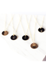 "CUSTOMIZED | <br>Initial Disc Necklace<br> Gold-Filled (1/2"") <br> With contrast coloring"