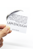 """I AM ENOUGH"" Cuff Bracelet"