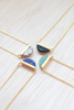 You're such a gem - Necklace (Black Howlite)