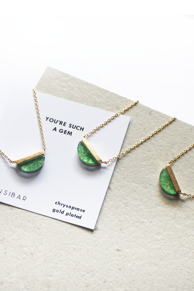 You're such a gem - Necklace (Chrysoprase)