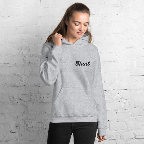 Hunt Hooded Sweatshirt - Sport Grey