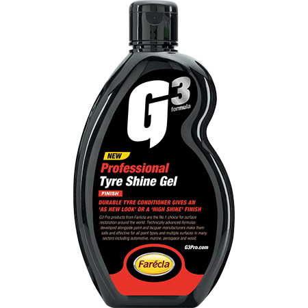 G3 Professional Tyre Shine Gel - Parma Automotive
