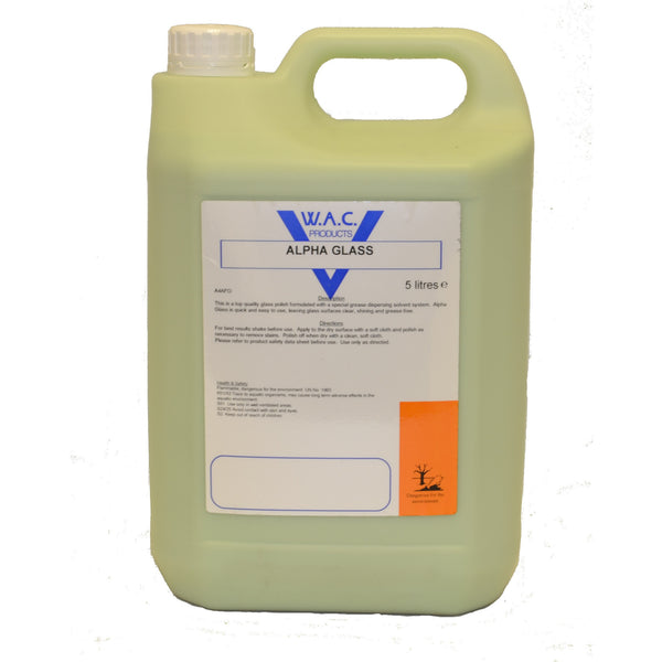 Alpha Glass Cleaner - 5 Litres - Parma Automotive