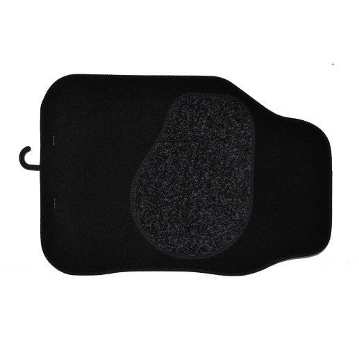Set of Four Black Car Mats - Parma Automotive