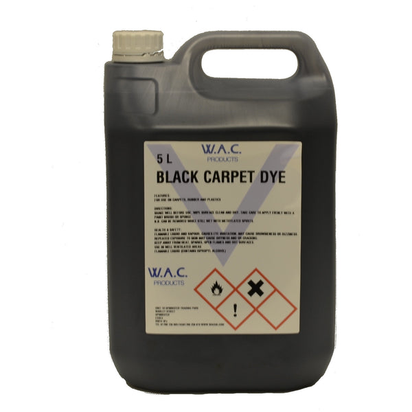 BLACK CARPET DYE - 5 Litres - Parma Automotive