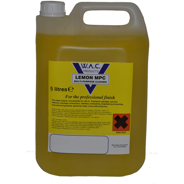 LEMON MULTI PURPOSE CLEANER - 5 Litres - Parma Automotive