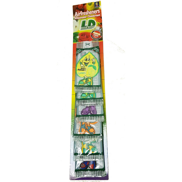 Hanging Air Fresheners strip of 12 - Parma Automotive