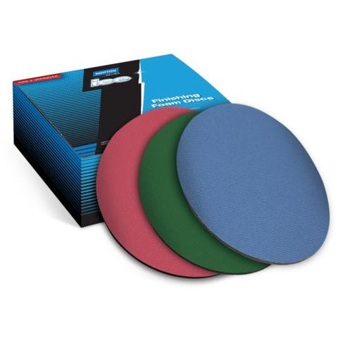 NORTON Q255 ICE FOAM BACKED DISCS - 3000 GRIT - Parma Automotive