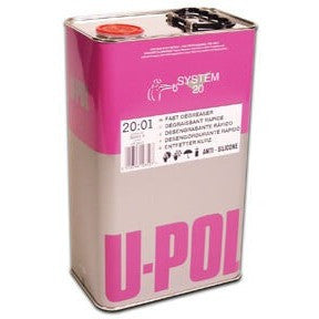 U-POL System 20 Panel Wipe & Degreaser Fast & Slow 5 Litres Upol - Parma Automotive