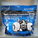 NORTON DUAL CARTRIDGE RESPIRATOR MASK