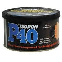 Isopon P40 Bridger Glass Fibre Compound 250ml - Parma Automotive