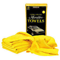 KIRKLAND SIGNATURE ULTRA PLUSH MICROFIBRE TOWELS/CLOTHS FOR AUTO OR HOME USE