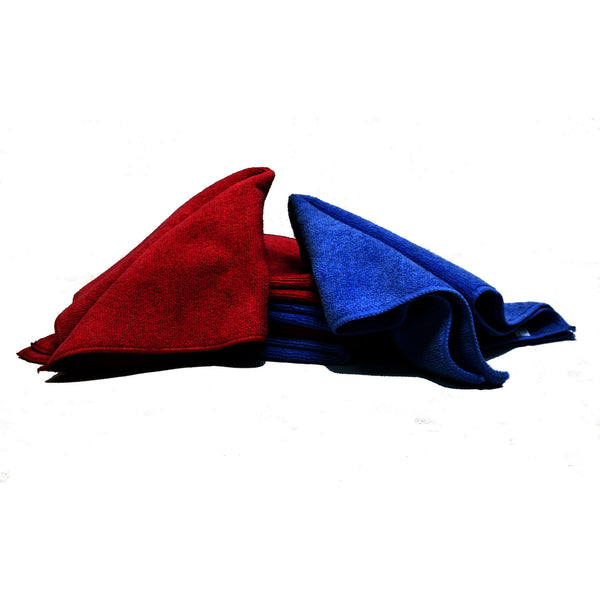Pack of 4 Micro Fibre Cloths - Parma Automotive