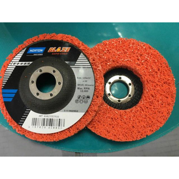 NORTON BLAZE RAPID STRIP 115x22 disc - Parma Automotive