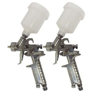 STARCHEM MINI HVLP CHROME SPRAY GUN 0.8MM - Parma Automotive