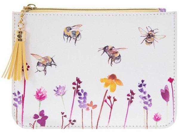 Busy Bee Fabric Coin Purse