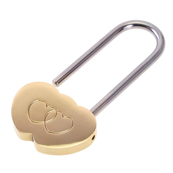Double Heart Lovers Padlock