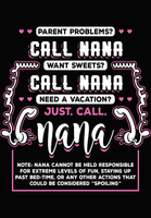 PRE-MADE DESIGN : JUST CALL NANA