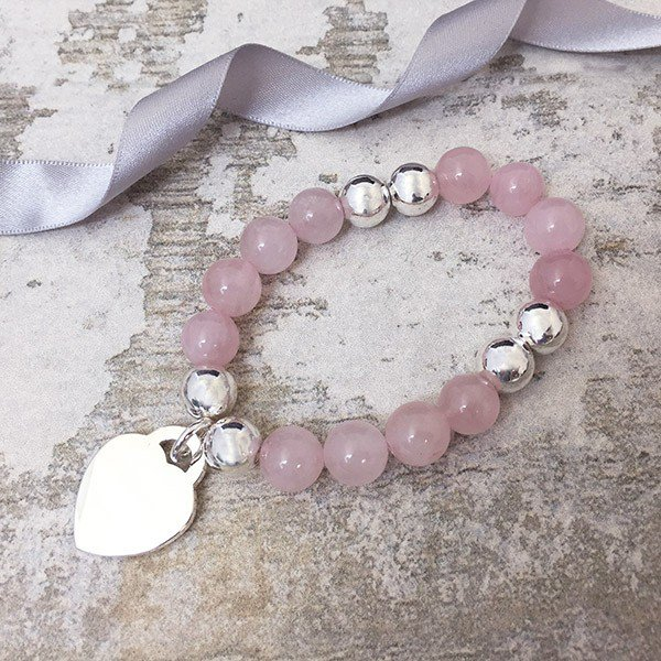 Cuyo Rose Quartz Bracelet