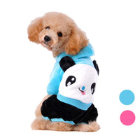 Panda style Winter Jacket for Your Small Dog